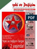 Tepki ve Değişim Dergisi 24. sayı