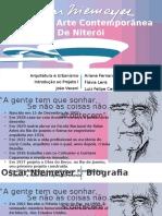 MUSEU DE ARTE CONTEMPORÂNEA DE NITERÓI - OSCAR NIEMEYER