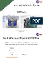 9.4 Introduzione a HSMWorks