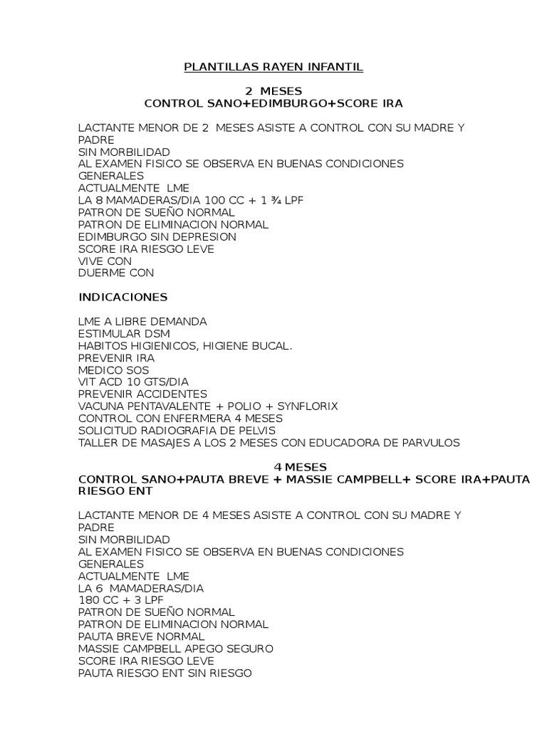 PLANTILLAS INFANTIL (1)