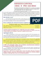 Manifesto Contra Plp257!12!07 2
