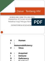 Paparan Informasi Dasar Tentang HIV