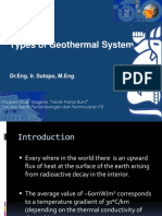 2 - Types of Geothermal System