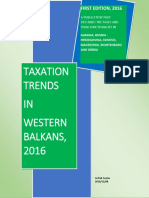 Taxation Trends in Western Balkans, 2016
