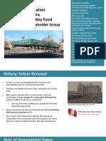 Community Stakeholders Presentation on Key Food Development Nov. 1 2016