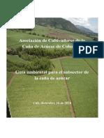 guia ambiental del subsector de la caña