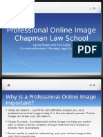 Projecting Professional Online Image