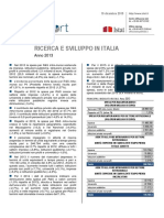 Ricerca e Sviluppo - 10_dic_2015 - Testo Integrale