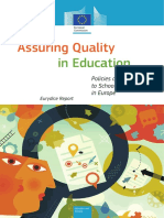Assuring Quality in Education_Euridice Report