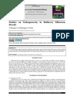Studies on Pathogenecity in Mulberry Silkworm Breeds