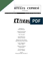 Kurtuluş Cephesi, Sayı:115, Mayıs-Haziran 2010
