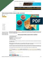 Nachos Mexicanos (Tortilhas Crocantes de Milho — Tipo Doritos) _ COZINHANDO PARA 2 OU 1