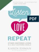 Listen, Love, Repeat Sample