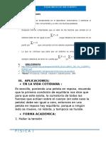 Hancco Quito Elvis Aderling 16130215 Informe 6 de Laboratorio de Fisica