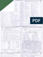 Formulario Derivadas e Integrales