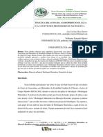 RE11 - Modelagem Matemática Relacionada Ao Desperdício de Água