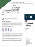 Refutando Os Argumentos Mais Frequentemente Utilizados Pelos Defensores Da PEC 241 _ Trincheiras