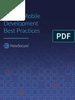 Secure Mobile Development