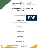 Quimica General Trabajo Colaborativo Unidad I -2016