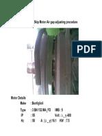 CP18 Skip Motor Brake Adjustment