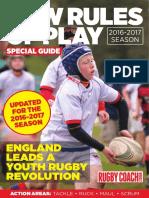 Nuevas reglas del rugby infantil