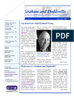 Graham and Doddsville - Issue 1_December 2006