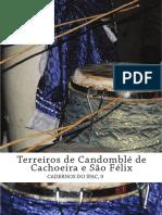 Livro Terreiros Candomblé Cachoeira São Félix