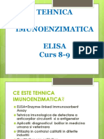 Tehnica Imunologica de Analiza ELISA