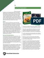 Common Food Preservation Ingredients