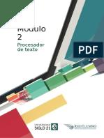 M2-L3 Procesador de Texto