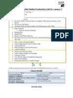 handout - cdmp unit 8 lesson 7