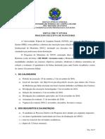 Edital Monitoria UFCG 2016