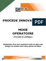 424 Gbe Mode Operatoire