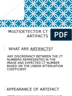 Multidetector Ct Artifacts