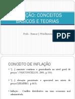 Inflação, Conceitos e Teorias - Aula 2013.2