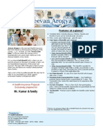 New Jeevan Arogya - Health Insurance Presentation