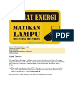Foster Hemat Energi