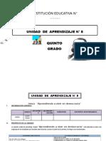 UNIDAD DE APRENDIZAJE 5° DE ED. PRIMARIA OCTUBRE 2016.docx