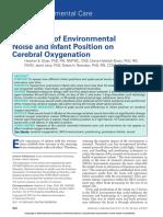 Los Efectos Del Ambiente y Posicion en UCIN
