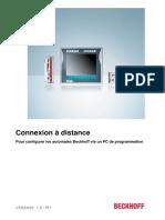BECKHOFF - TC Connexion à Distance