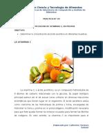 Practica 4 Vitamina c