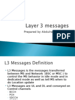 Layer 3 Messages