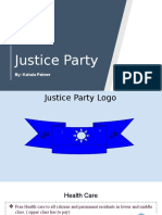 justice party