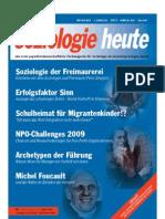 SOZIOLOGIEHEUTE Februarausgabe2010 Scribd Seiten1bis7