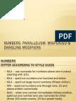 11.2 Eng101 Numbers Parallelism MisplacedAndDanglingModifiers