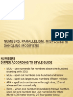 11.2 Eng101 Numbers Parallelism MisplacedAndDanglingModifiers
