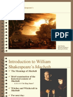 introductory to macbeth