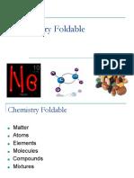 notes -  chemistry foldable pptx
