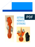 Sistemas de Hidrantes Exteriores