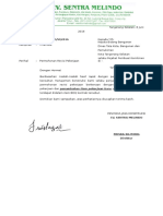 Contoh Surat Permohonan Revisi Pekerjaan